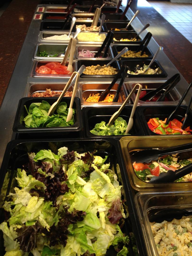 randys restaurant salad bar. Black Bedroom Furniture Sets. Home Design Ideas